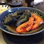 70793923 - 茄子の煮浸しと海老の煮物
