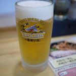 らーめん 大気見 - 生ビール~☆