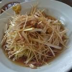 李園 - 鶏とネギの冷やし麺