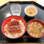ジェイズカフェ - 日替りBセット(うな丼)500円