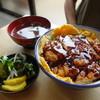 すずや食堂 - 料理写真:ソースカツ丼(¥850税込み)
