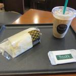 タリーズコーヒー - オリジナルエッグサラダサンドモーニングセット 580+30円