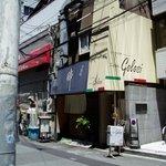 トラットリア・ゴロージィー - 2階がお店