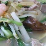 中国料理 萬龍 - 野菜ラーメンです。