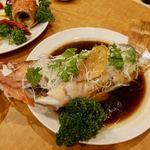 南粤美食 - 清蒸石斑魚