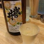 福島壱麺 - 武の井 純米吟醸 ヒマワリ酵母仕込 火入れ(山梨県)