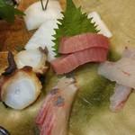 福島壱麺 - 刺身盛り