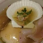 福島壱麺 - 帆立とトリュフ香る塩ラーメン