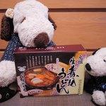 70803446 - 名古屋に行ったら一度食べてみたいと思ってた味噌煮込みうどん。でも今回も食べる機会がなかったので、お土産に買ってみたよ。