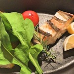 70803621 - 白身魚のグリル レモンオイルソース