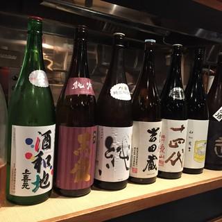 日本酒定期券スタート&常時45種類の厳選地酒・焼酎取り揃え