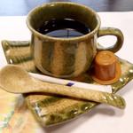 大和榛原牛 うし源 - 食後のコーヒー。(デザートはない)