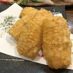 大衆酒場 こづち - 大好きなトウモロコシの天ぷら