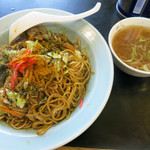 さかえ食堂 - カレー焼きそば&スープ