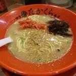 博多豚骨 たかくら - 無料高菜と生姜で味変