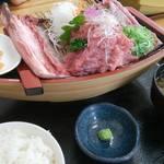 みなと市場 小松鮪専門店 - 「中落ち定食」
