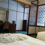 万平ホテル - 和の装いを感じる部屋です