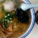 食事処里味 - 魚しょうラーメン600円