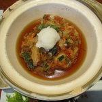 えんざ - えんざの定食「桜海老のかき揚げ」