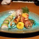 膳菜や - マグロと筍のユッケ