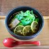 星ふる館 - 料理写真:かぼす冷麺 800円