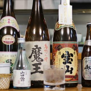 生ビール・日本酒…思い思いにお酒を愉しむ◎粋な時間の楽しみ方