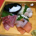 高松個室居酒屋 酒と和みと肉と野菜 - お造りの盛合せ