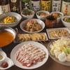 こめらく - 料理写真:十勝豚しゃぶしゃぶ&胡麻坦々鍋コース