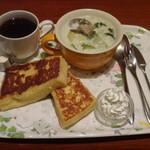 CAFE AALIYA - フレンチセット(ランチ)