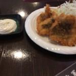 海鮮漁師料理 水軍 - ハモフライ定食 1100円