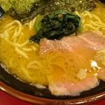 麺童虎徹 - 醤油豚骨650円