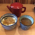 片町 弥ひろ - 蕎麦湯と〜♪