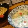 茶屋亭 - 料理写真:豆乳しおつけそば、大盛