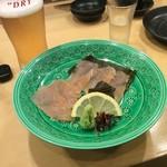 70817730 - 堅豆腐のお刺身