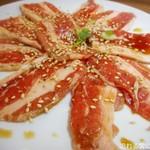 きらく苑 - 焼肉定食(肉)