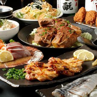 飲み放題付≪3,500円~≫自慢の鮮魚、炙り焼きがお値打ち!