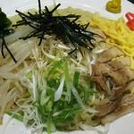 さっぽろ麺屋 文太郎 - 冷しラーメン大盛