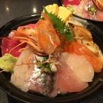 すしざんまい - 海鮮ちらし丼 1500円