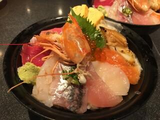 すしざんまい 本店 - 海鮮ちらし丼 1500円