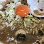 ハイマウント - 【2017.7.28】たれそばのスープ割り❤️玉子とネギ増しで