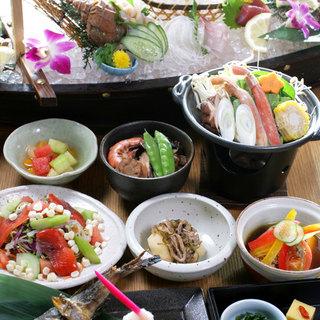 大小ご宴会に旬の味覚たっぷりのお得なコース!