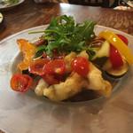 大衆イタリア食堂 アレグロ - アレグロペアランチ(3名)@6,050 前菜