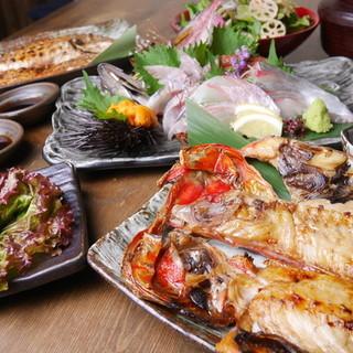 人気急上昇。新鮮な魚を大胆な盛り付けで、リーズナブルに