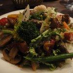 ビストロ オランジュ - 砂肝のサラダ