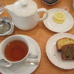 7083815 - ボワロン杯優勝のケーキと紅茶
