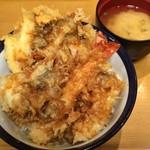 天丼てんや - 揚げてしまえば、松茸は分からないw