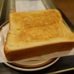 喫茶 イースタン - 2017.08 トーストは厚切りパンが1枚分