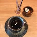 蕎麦 魯庵 - コーヒー