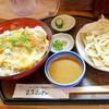 まさむね - 料理写真:2017年7月 カツ丼+ごまダレうどんミニ【950円+350円】