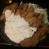 とんしゃん - 料理写真:タルカツ定食ジャンボ(2枚)
